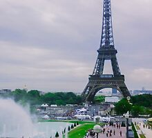 Eiffel Tower Paris France by NBeauty