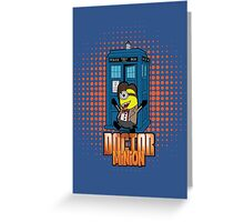 Doctor Minion 11 Greeting Card