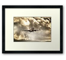 In Search of The Sun Framed Print