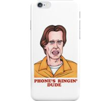 Phone's Ringin' Dude (Color) iPhone Case/Skin