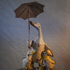 Quacking in the Rain by Randy Turnbow