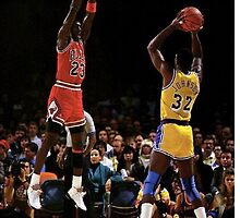 Magic & Jordan by sharpstone