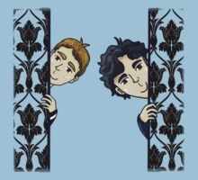 Sherlock and John 221B by Jessica Wilson