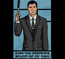 Sterling Archer by 666hughes