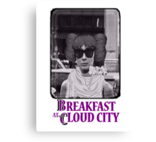 Breakfast at Cloud City Canvas Print