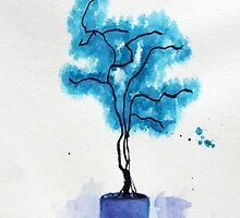 Blue Tree by argiereyes