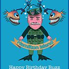 Happy Birthday Buzz by Tom Godfrey