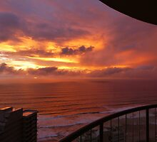 Sunrise at Surfers Paradise by PhotosByG