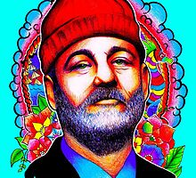 Bill Murray. by AshSheridan