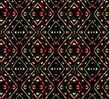 Dark Diamonds Pattern by DFLCreative