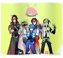 (CLEAN Version) DRAMAtical Murder - Five Guys Poster