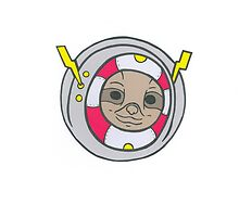 Astro Sloth by Zuno