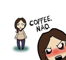 Coffee Zombie by akumalx9