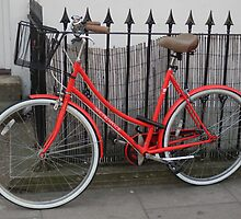 Red bicycle by powerball225
