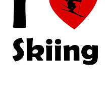 I Heart Skiing by kwg2200
