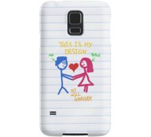 This is Will's design Samsung Galaxy Case/Skin