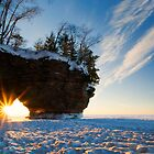 Fading Warmth, Apostle Islands, WI by Michael Treloar