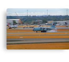 China Air Force Ilyushin Il-76 - Perth Airport Canvas Print