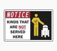 Kinds That Are Not Served Here by Ben DeFever