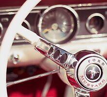 Ford Mustang Steering Wheel by salvareyes