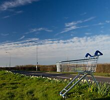 Lonely trolley by justinp71