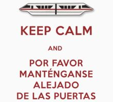 Monorail- Keep Calm (Red) by Margybear