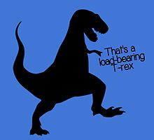 That's a load-bearing T-Rex by nimbusnought