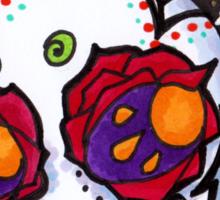 Tiny Sombrero Sugar Skull Sticker