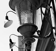Old Lantern 10 Black and White by marybedy