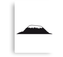 Africa Mount Kilimanjaro Canvas Print