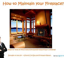 How to Maintain your Fireplace - www.hottubandfireplacerepair.com by hottuband