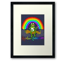 Rainbow Connection Framed Print