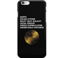 Cosmic Address iPhone Case/Skin