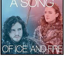 A song of ice and fire - jon snow  and ygritte by Alessandro Tamagni