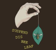 Suspend Dis Bee Leaf by Lou Endicott