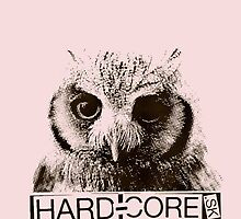 Owl Hardcore! by Snaflein