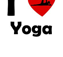 I Heart Yoga by kwg2200