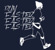 Ellie Goulding Running (Design A) by RobC13