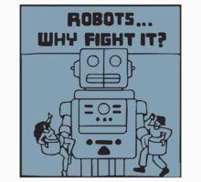 Ugly Americans - Robots ... why fight it! by love-love-love