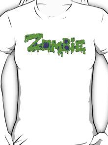 Zombie (Typography) T-Shirt