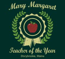 Mary Margaret Teacher of the Year by waywardtees