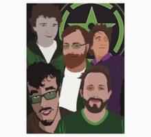 Achievement Hunter Main Team by FloppyNovice