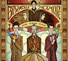 The Day of the Doctor by FloandFish