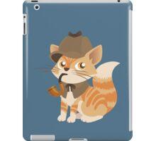 Cute Sherlock Holmes Kitten iPad Case/Skin
