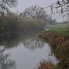 """"""" Early By The Misty River Bank """" by Richard Couchman"""