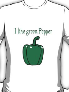 Vegetables peppers nature garden T-Shirt