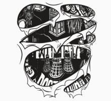 Doctor Who Torn Shirt by strangebird2014