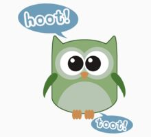 Funny Owl Hoot Toot! Kids Clothes