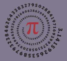 Pi π Galaxy Science Mathematics Math Irrational Number Sequence Kids Clothes