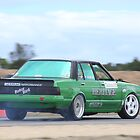 2014 Oz Gymkhana Round 1 - #05 Nissan Bluebird by Stuart Daddow Photography